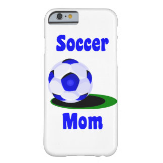 Mamá del fútbol funda barely there iPhone 6