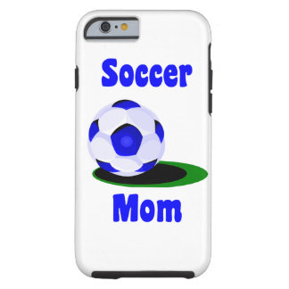 Mamá del fútbol funda resistente iPhone 6