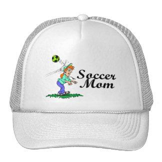 Mamá del fútbol gorras