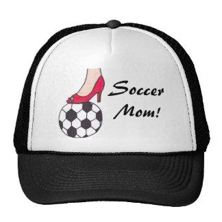 ¡Mamá del fútbol! Gorros Bordados