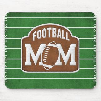 Mamá del fútbol mouse pad