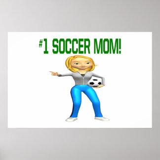 Mamá del fútbol poster