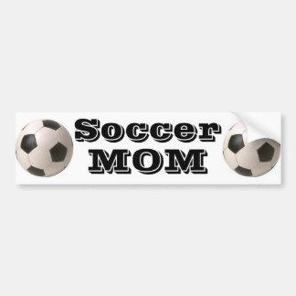 Mamá del fútbol - pegatina para el parachoques pegatina para auto