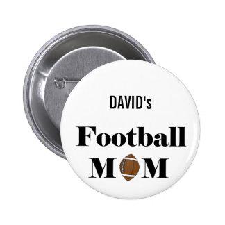 mamá del fútbol pins