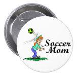 Mamá del fútbol pin