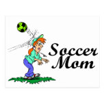 Mamá del fútbol postales