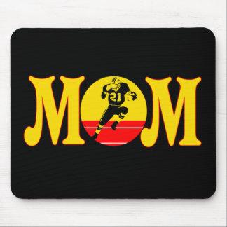 Mamá del fútbol tapetes de ratones