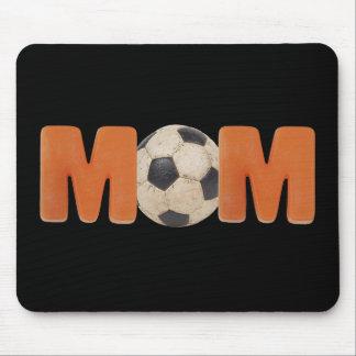 Mamá del fútbol alfombrillas de raton