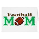 Mamá del fútbol tarjeta
