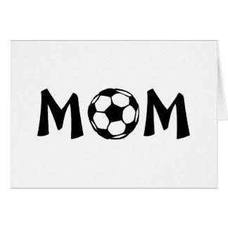 Mamá del fútbol felicitaciones