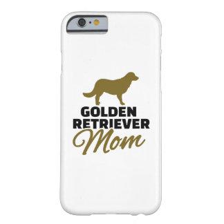 Mamá del golden retriever funda de iPhone 6 barely there