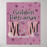 MAMÁ del golden retriever Posters