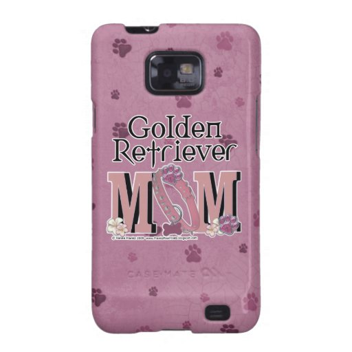 MAMÁ del golden retriever Samsung Galaxy S2 Funda