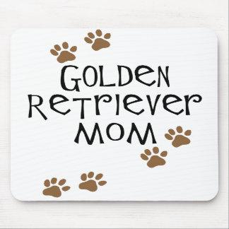 Mamá del golden retriever alfombrillas de ratones