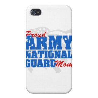 Mamá del Guardia Nacional del ejército iPhone 4/4S Carcasa