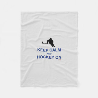 Mamá del hockey - el papá guarda la manta manta de forro polar