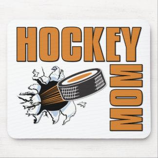 Mamá del hockey alfombrilla de ratón