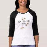 Mamá del husky siberiano camiseta