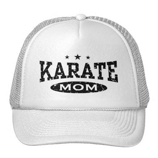 Mamá del karate gorras
