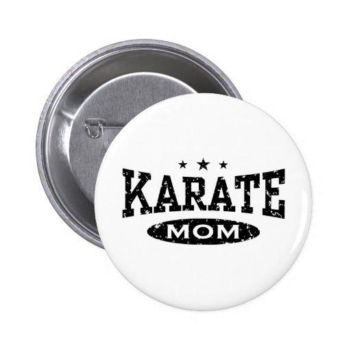 Mamá del karate pins