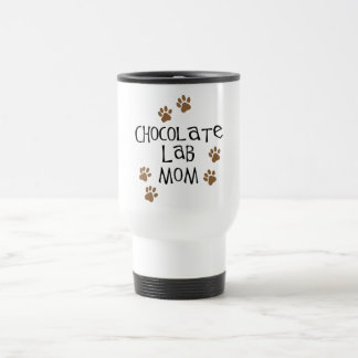 Mamá del laboratorio del chocolate taza térmica