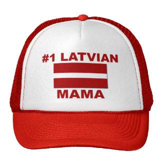 Mamá del Latvian #1 Gorras