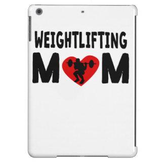Mamá del levantamiento de pesas funda para iPad air