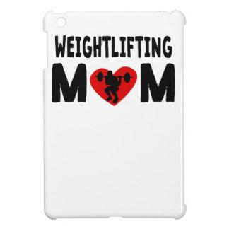 Mamá del levantamiento de pesas