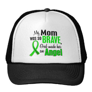 Mamá del linfoma de Non-Hodgkins del ángel 1 Gorros Bordados
