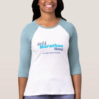 Mamá del maratón del 1/2 playera