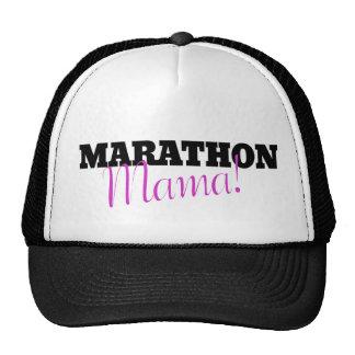 MAMÁ del maratón Gorras
