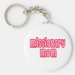 Mamá del misionario llaveros personalizados