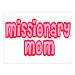 Mamá del misionario tarjetas postales