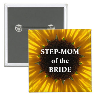 Mamá del paso del girasol de la novia pin