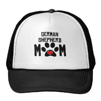 Mamá del pastor alemán gorras de camionero