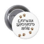Mamá del pastor alemán pin