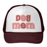 Mamá del perro gorros bordados