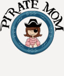 Mamá del pirata camiseta