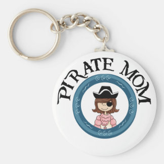 Mamá del pirata llavero personalizado