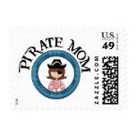 Mamá del pirata sello