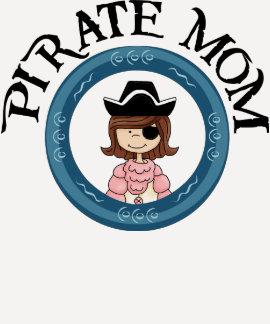 Mamá del pirata t shirt
