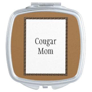Mamá del puma espejo maquillaje