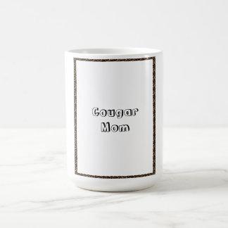 Mamá del puma taza de café
