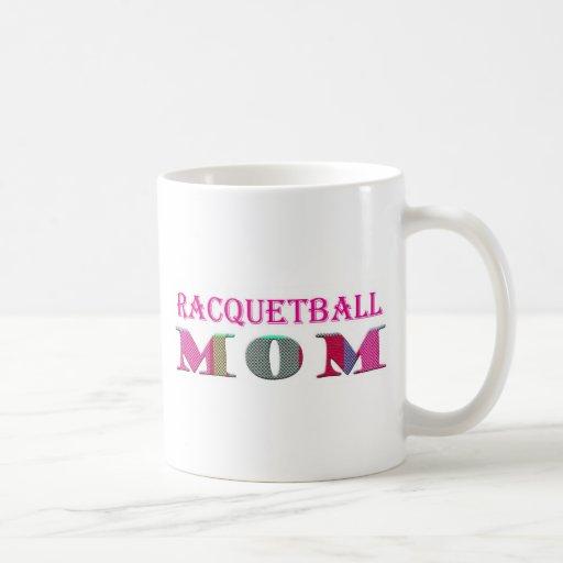 mamá del Racquetball mc04 Taza De Café