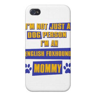 Mamá del raposero inglés iPhone 4 cobertura