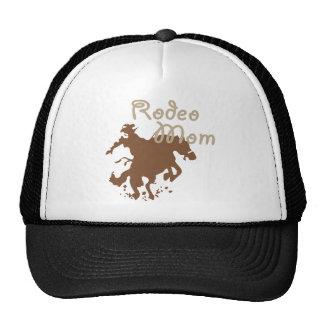 Mamá del rodeo gorra