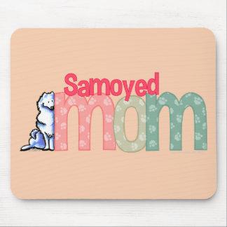 Mamá del samoyedo tapetes de raton