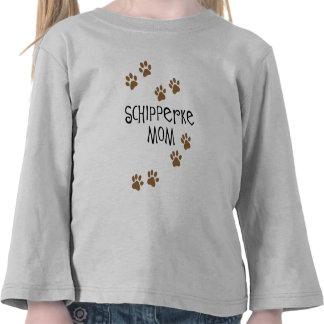 Mamá del Schipperke Camisetas