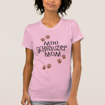 Mamá del Schnauzer miniatura Camiseta