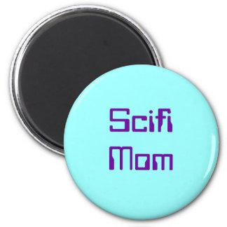 Mamá del Scifi Imán Redondo 5 Cm
